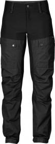 Fjällräven Keb Curved pant long black/dark grey (ladies) (F89580-550-030)