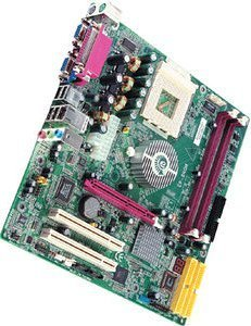 EPoX EP-8RGMi, nForce2 (dual PC-3200 DDR)