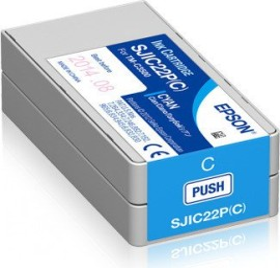 Epson Tinte SJIC22P(C) cyan (C33S020602)