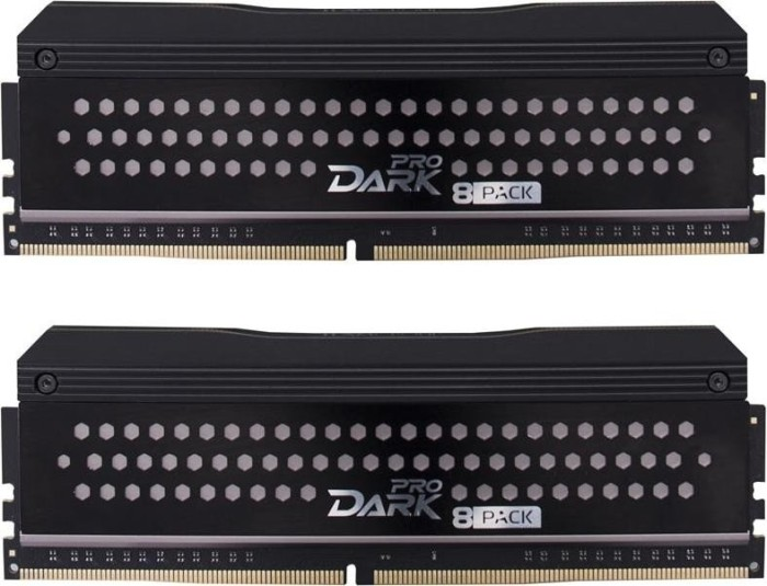 TeamGroup Dark Pro 8Pack Edition DIMM Kit 16GB, DDR4-3200, CL14-14-14-31 (TDPGD416G3200HC14ADC01)