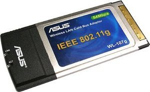 ASUS WL-107g, Cardbus