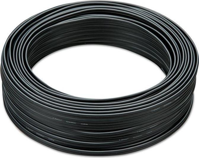 Teufel loudspeaker cable 2x 1.0mm² 30m black (C1030S)