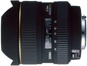 Sigma AF 12-24mm 4.5-5.6 EX DG Asp HSM IF für Nikon F schwarz (200955)