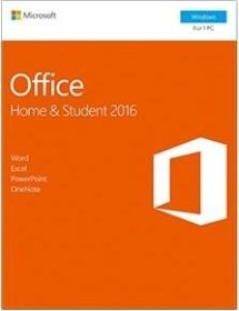 Microsoft Office 2016 Home and Student, PKC (deutsch) (PC) (79G-04659)