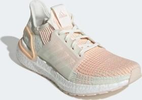 adidas Ultra Boost 19 off white/glow orange (Damen) (F34073)