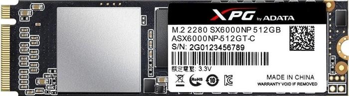 ADATA XPG SX6000 512GB, M.2 (ASX6000NP-512GT-C)