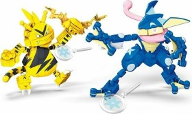 Mattel Mega Construx Pokémon Greninja vs. Electabuzz (GFV84)
