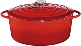 Küchenprofi Provence stew pot oval red 40cm 12.5l (0402001440)