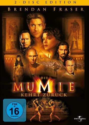 Die Mumie kehrt zurück (Special Editions) -- via Amazon Partnerprogramm