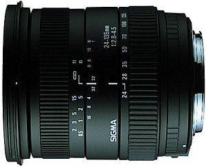 Sigma AF 24-135mm 2.8-4.5 Asp IF für Nikon F schwarz (667944)