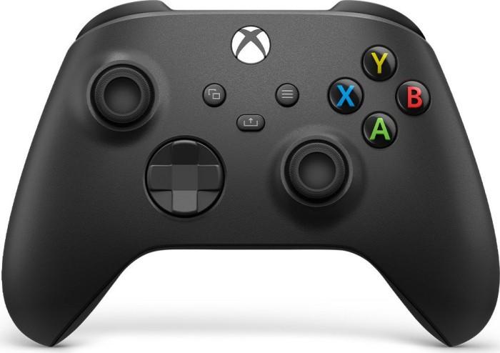 Microsoft Xbox Series X Wireless Controller carbon black (Xbox SX/Xbox One/PC) (QAT-00002)