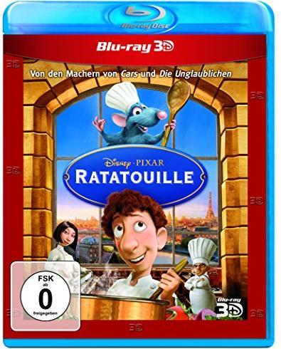Ratatouille - Rattenscharf serviert (Blu-ray) -- via Amazon Partnerprogramm