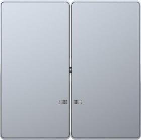 Merten System Design Doppelwippe, edelstahl (MEG3420-6036)
