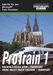 Microsoft Train Simulator - Pro Train 1: Rheintalstrecke Köln - Frankfurt (Add-on) (niemiecki) (PC)