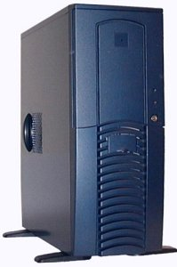 Chieftec Dragon DG-01BLD-U Midi-Tower blue (without power supply)