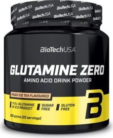 BioTech USA L-Glutamine Zero Pfirsich Eistee 300g
