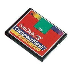 SanDisk CompactFlash Card (CF) 160MB (SDCFB-160) -- © SanDisk