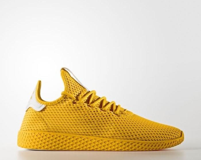 e6a6eb160 adidas Pharrell Williams tennis HU collegiate gold white (CP9767 ...