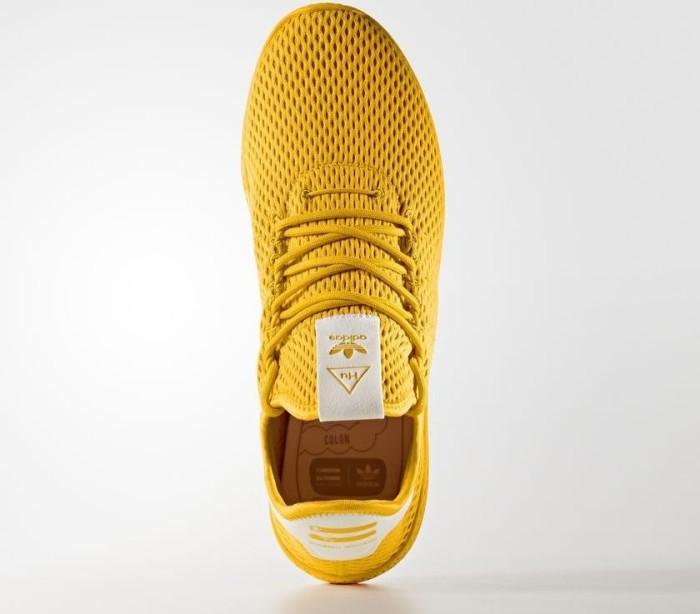 free shipping 954ef 27f0c adidas Pharrell Williams tennis HU collegiate goldwhite (CP9767)