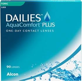 Alcon Dailies AquaComfort Plus Toric, -2.50 Dioptrien, 90er-Pack