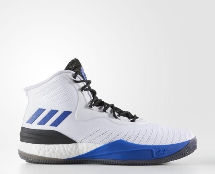 ab80b107ec4a adidas D Rose 8 white blue-sid core black (men) (CQ0830) starting ...