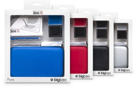 BigBen Pure XL pack for Nintendo 3DS XL (DS) (various colours)