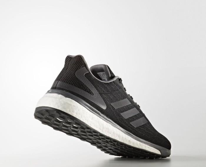 adidas Response Lite Herren Laufschuhe 46 2/3 EU Core Black/Night Metalic/Grey Five