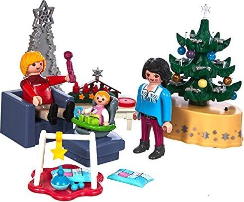 Weihnachten 2019 In Deutschland.Playmobil Weihnachten Weihnachtliches Wohnzimmer 9495