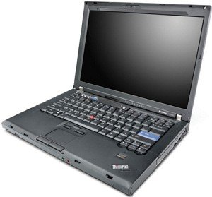 "Lenovo IBM ThinkPad R61, Core 2 Duo T8100 2.10GHz, 2GB RAM, 160GB, DVD+/-RW, 15.4"" (NF5DEGE)"