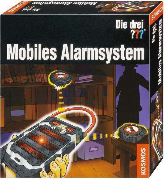 Fragezeichen Mobiles Alarmsystem KOSMOS Meisterdetektiv Die drei ?? Natur & Wissenschaft