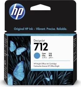 HP Tinte 712 cyan (3ED67A)