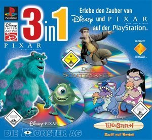 Disney Triplepack: Monsters, Lilo & Stitch, Schatzplanet (PS1)
