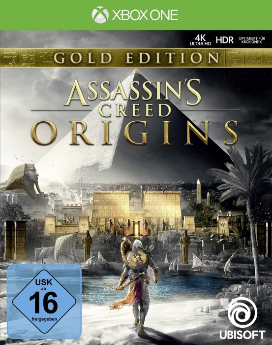 assassin 39 s creed origins gold edition englisch xbox. Black Bedroom Furniture Sets. Home Design Ideas