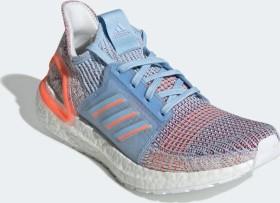 adidas Ultra Boost 19 glow blue/hi-res coral/active maroon (Damen) (G27483)