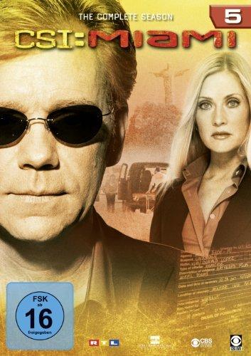 CSI Miami Season 5 -- via Amazon Partnerprogramm