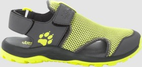 Jack Wolfskin Outdoor Water Action ebony/lime (Junior) (4038801-6241)