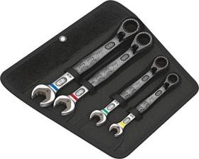 Wera 6001 Joker Switch 4 Set 1 Maul-Ringratschenschlüsselsatz, 4-tlg. (05020090001)