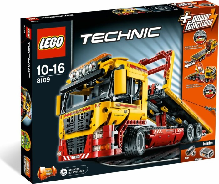 LEGO Technic - Tieflader (8109) -- via Amazon Partnerprogramm