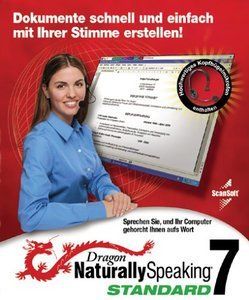 Nuance Dragon NaturallySpeaking Standard 7.0 + headset (PC)