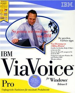 IBM ViaVoice 8.0 + Headset (PC)