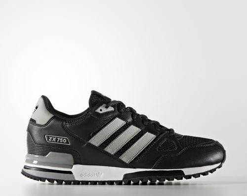 adidas ZX 750 core black/mgh solid grey/mgh solid (S76191)