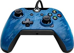 PDP Wired Controller blue camo (Xbox One) (048-082-EU-CM02)