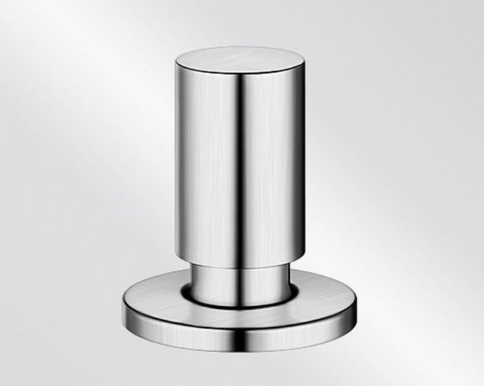 Blanco train-drain remote circular stainless steel silk gloss (222115)