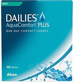 Alcon Dailies AquaComfort Plus Toric, -7.00 Dioptrien, 90er-Pack
