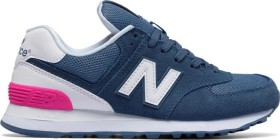 New Balance 574 Suede chambray/white/peony (Damen) ab € 68,90