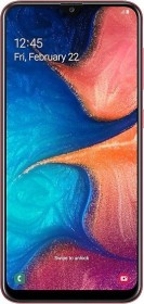 Samsung Galaxy A20 Duos A205F/DS rot