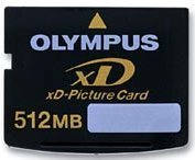 Olympus xD-Picture Card Typ S 512MB (N1732892)