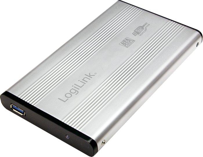 "LogiLink UA0106A silber, 2.5"", USB-A 3.0"