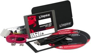 Kingston SSDNow V200 - desktop/notebook Upgrade kit - 64GB, SATA (SV200S3B7A/64G)