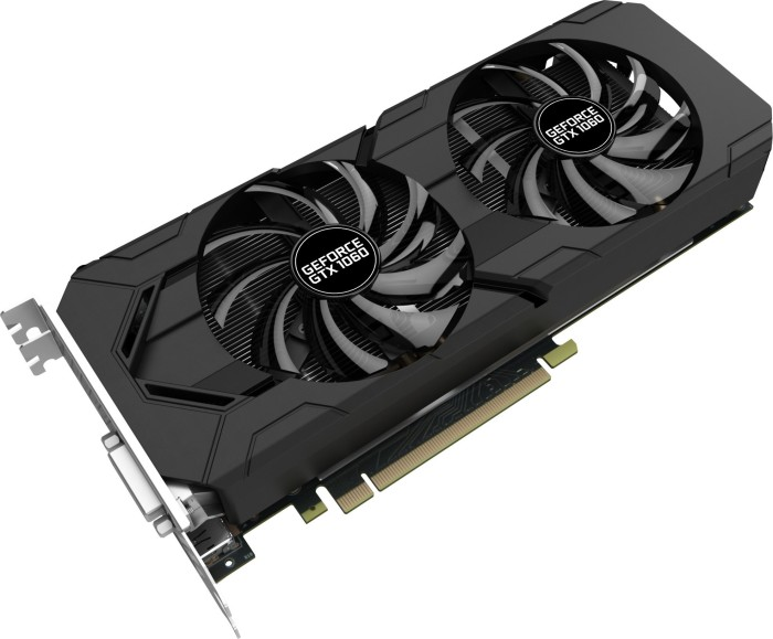 Gainward GeForce GTX 1060, 6GB GDDR5, DVI, HDMI, 3x DP (3712)